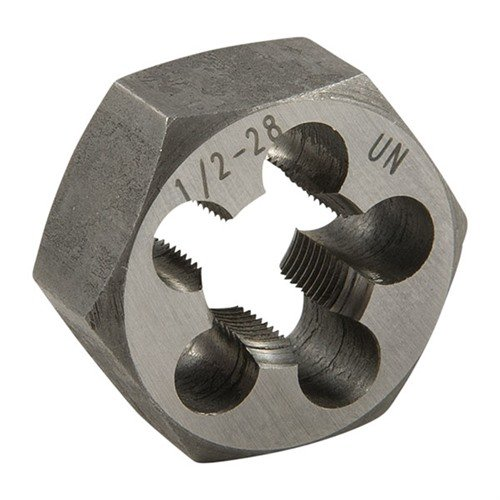 1/2-28 CARBON STEEL HEX DIE