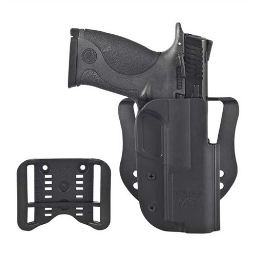 Revolution Holster-S&W M&P 9/40/45 w/ASR + Paddle-Blk-RH