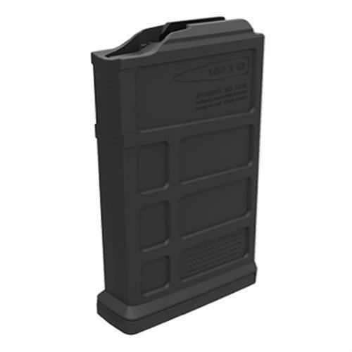 Short Action AICS PMAG AC Magazine 308 Win 10rd Polymer Blk