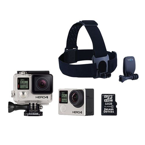 GoPro Hero4 Black 3-Gun Bundle