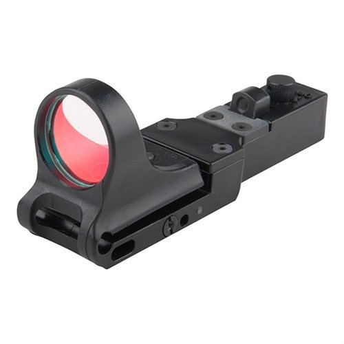 SlideRide Polymer Red Dot Sight 6 MOA Click Switch Black