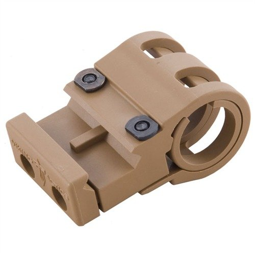 Flashlight/Laser Mount, Coyote Tan
