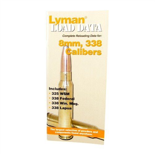 Load Data-8mm, 338 Calibers