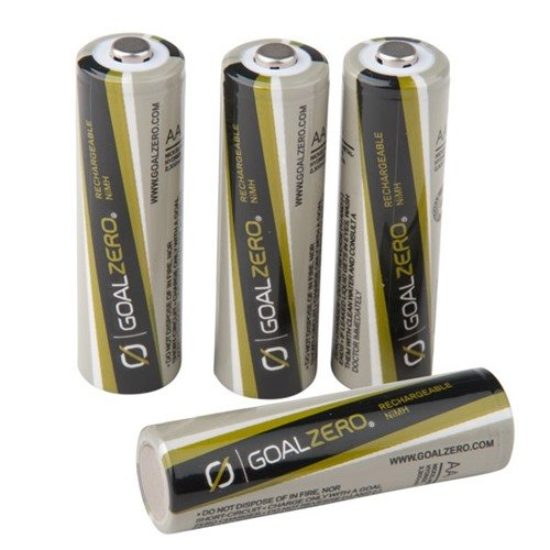 4x Rechargeable AA Batteries