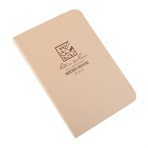 All-Weather Memo Book-Tan