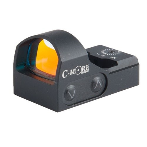 STS2 Red Dot Sight, Click, BLACK - 3 MOA