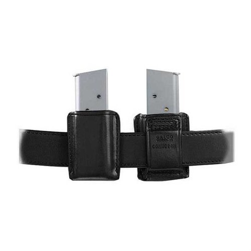Concealable Mag Carrier .45 Single Metal Mag-Black