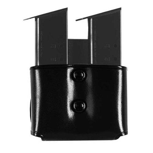 Double Paddle Mag Carrier 45 Single Metal Mag-Black