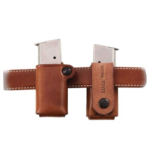 Single Mag Carrier .40 Staggered Metal Mag-Tan