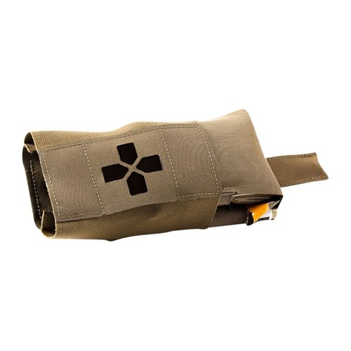 Micro Trauma Kit Now! Pouch Belt Mount Coyote