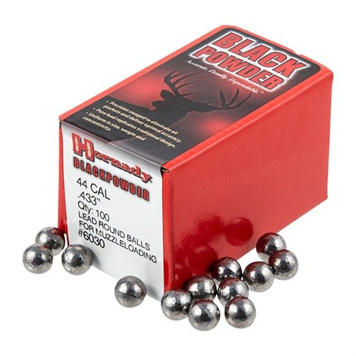 "44 Cal (.433"") Lead Round Ball 100/Box"