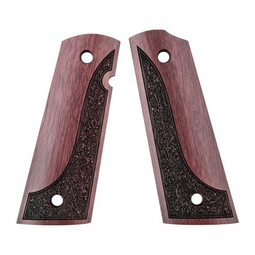 1911 Exotic wood grip made from Purpleheart