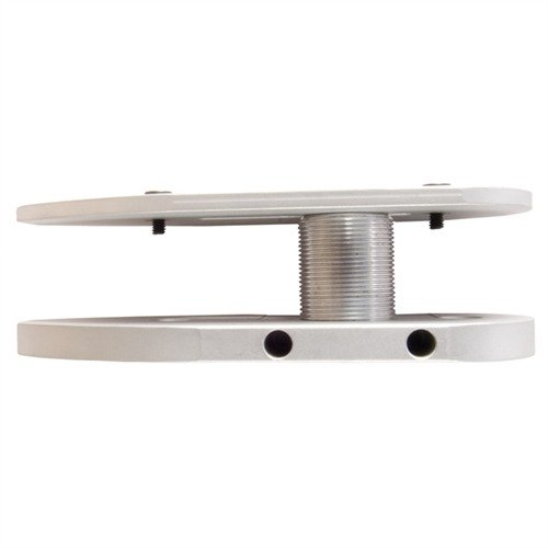 32082 Auto Adjustable Butt Plate Silver Aluminum