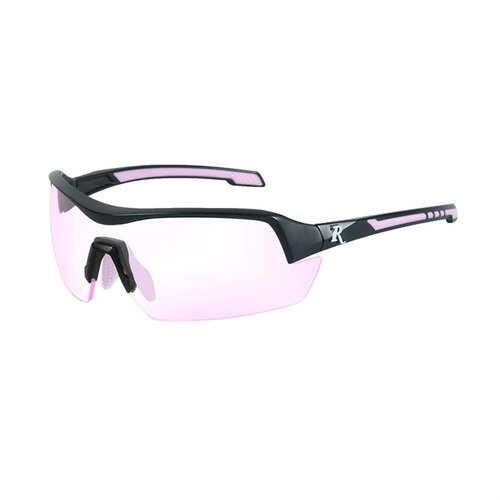 Remington Ladies Glasses-Black&Pink Frame-Clear Rose Lens