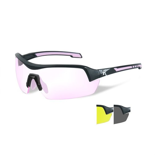 Remington Ladies Glasses-Black&Pink Frame-3 Lens Colors