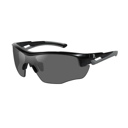 Remington Youth Glasses-Black&Grey Frame-Smoke Lens