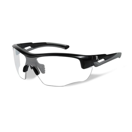 Remington Youth Glasses-Black&Grey Frame-Clear Lens