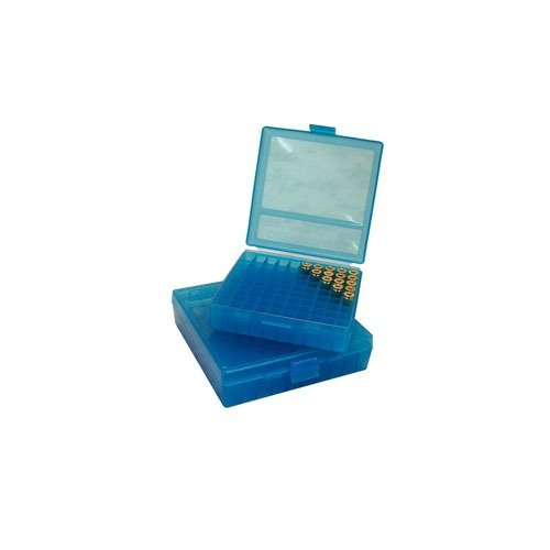 Ammo Boxes Pistol Blue 45ACP-40-10mm 100
