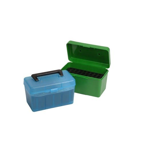 Ammo Boxes Rifle Blue 6mm Remington - 30-06 Springfield 50
