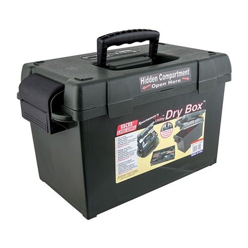 Med Utility Dry Box, Forest Green