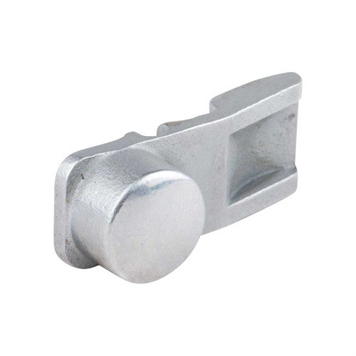 Button, Cart Latch, Chrome/Glossy, 390/391