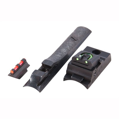 KMC MK-85 Fiber Optic Knight Fire Sight Set Multi
